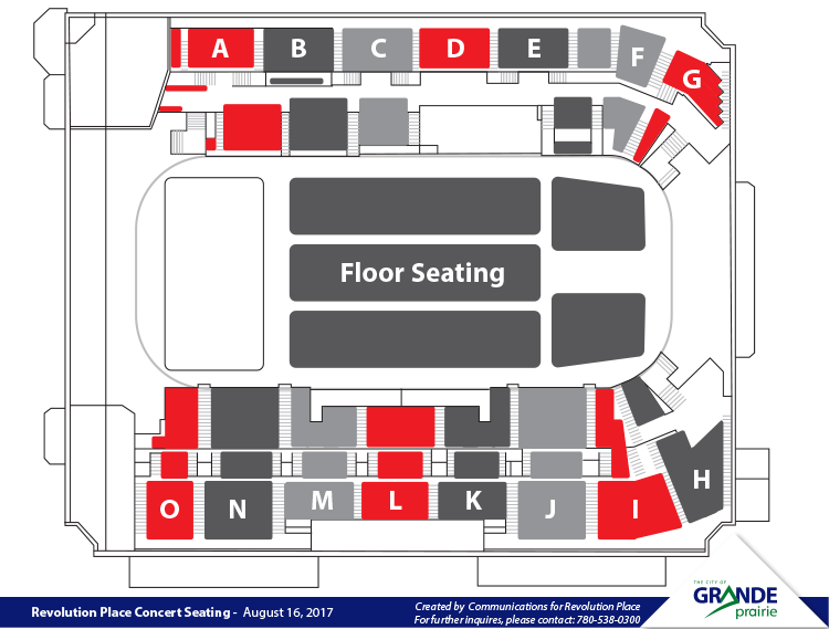 Revolution Place Concert Seating Chart